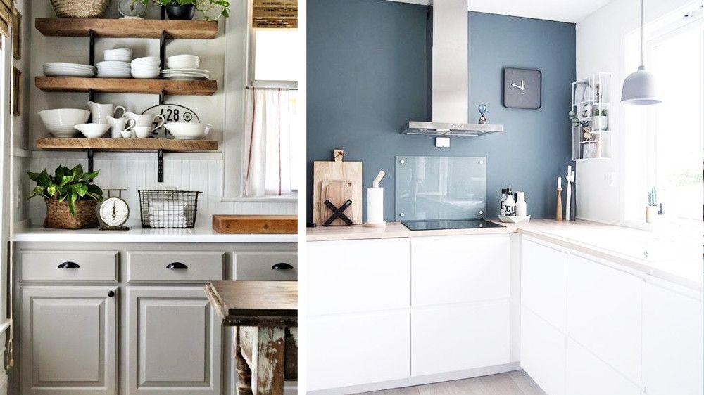Relooker ses meubles de cuisine avec un petit budget avec - Relooker ses meubles de cuisine ...