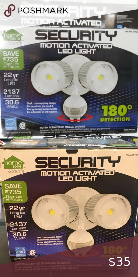 Home Zone Motion Activated Led Security Light 2500 Lumens