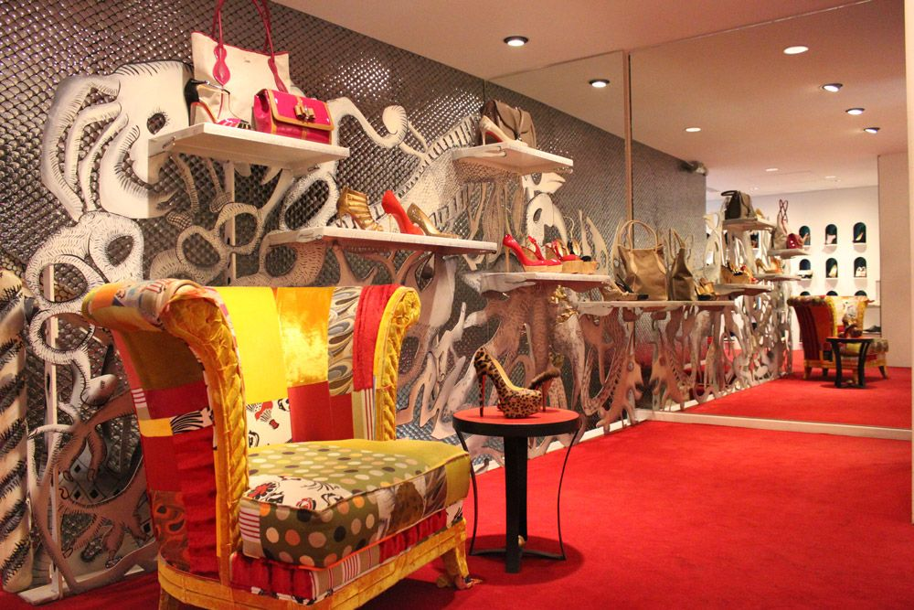 point de vente christian louboutin
