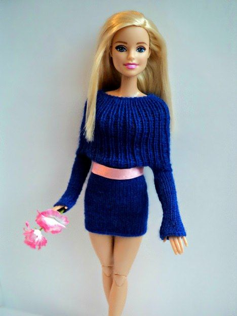 Наряды для Барби/Barbie Fashion #crochetedbarbiedollclothes