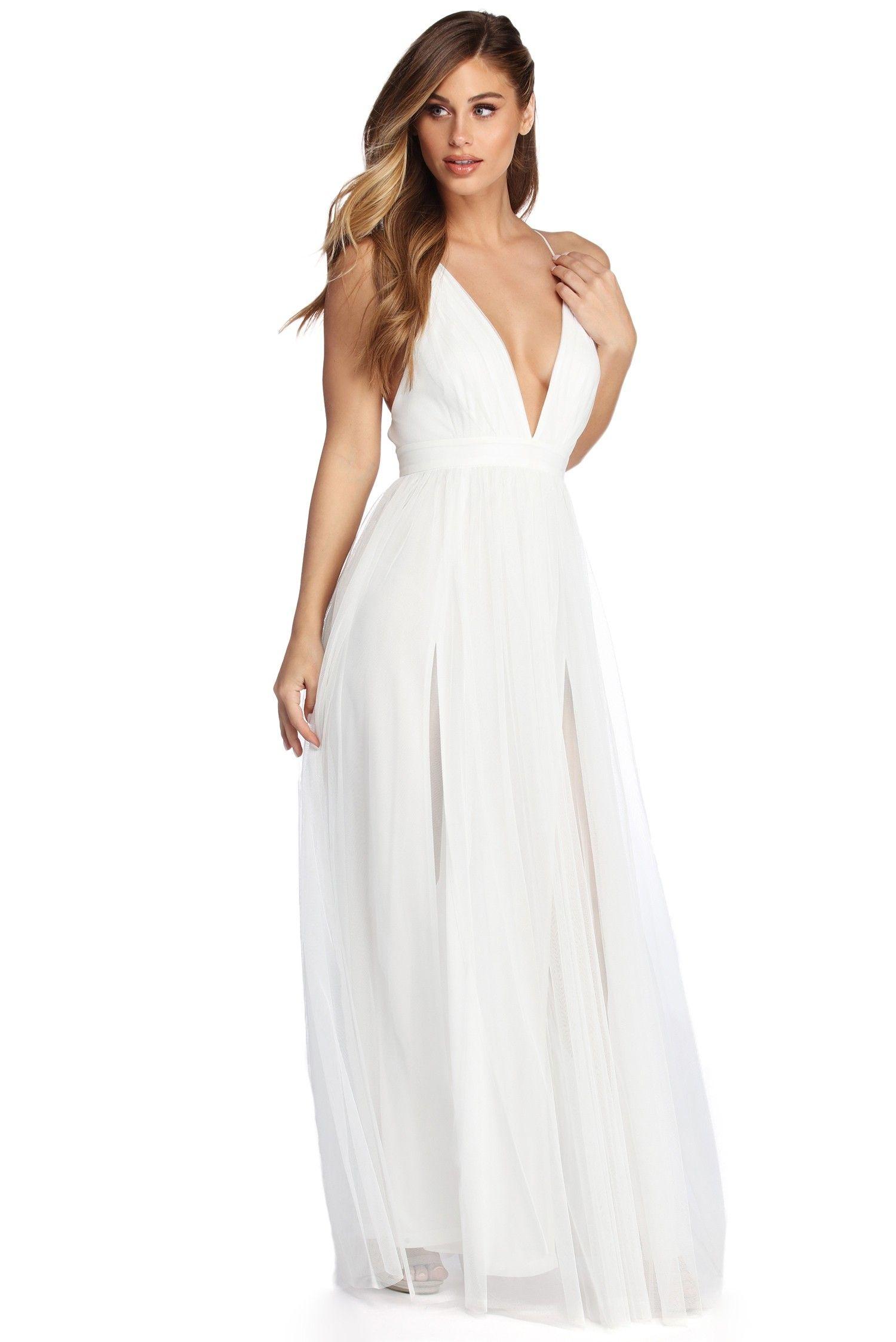 26542c098a Elisabeth Pleated Tulle Formal Dress in 2019   -Dresses-   Formal ...