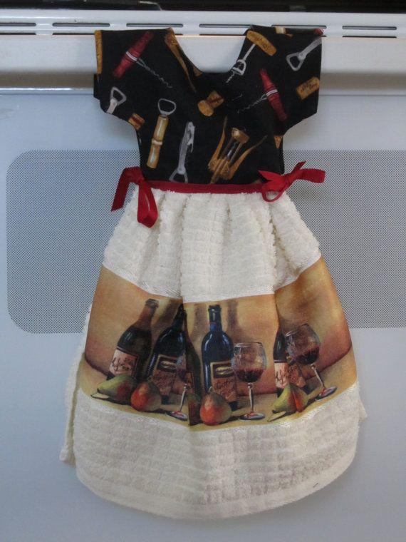 Oven Door Dress Towel Towel Dress Towel Crafts Kitchen