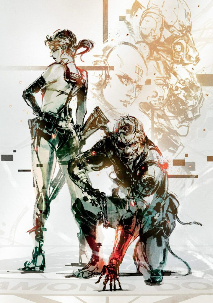 Pin By Alex Coupe On Cool Stuff Metal Gear V Metal Gear