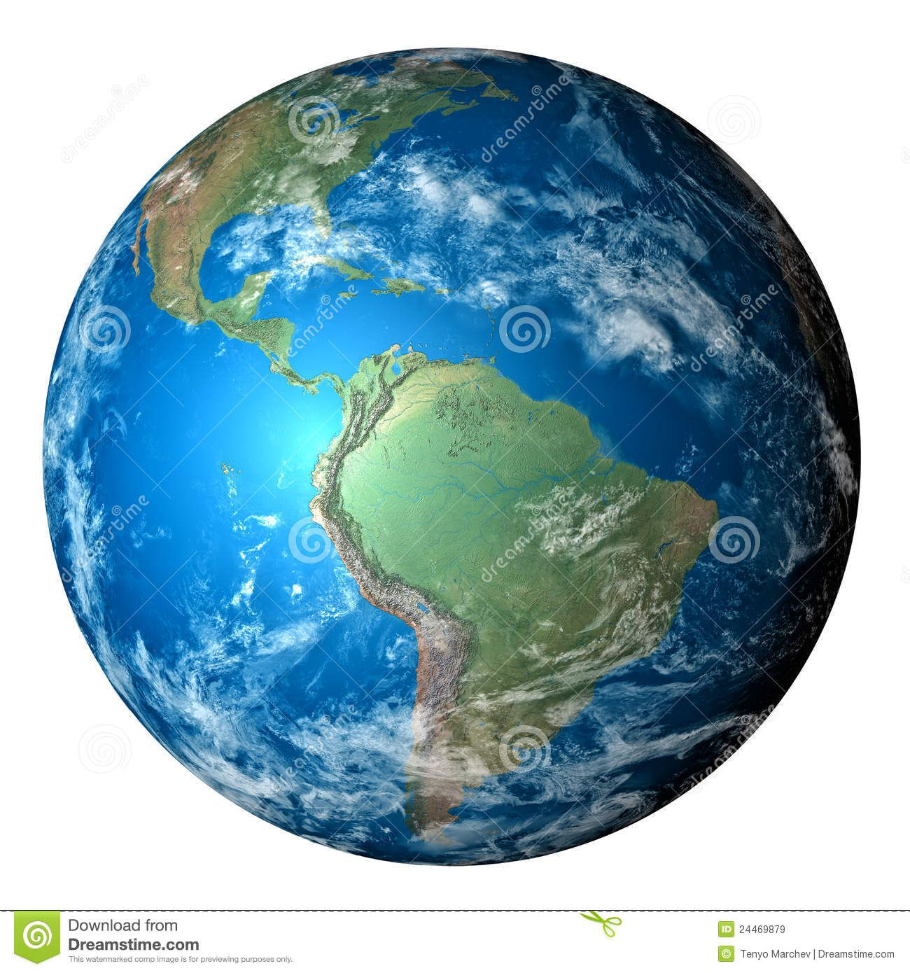 Photo Realistic Planet Earth In Transparent Background Download From Over 48 Million High Quality Stock Photos Images Vector Risunki Planety Prirodovedenie