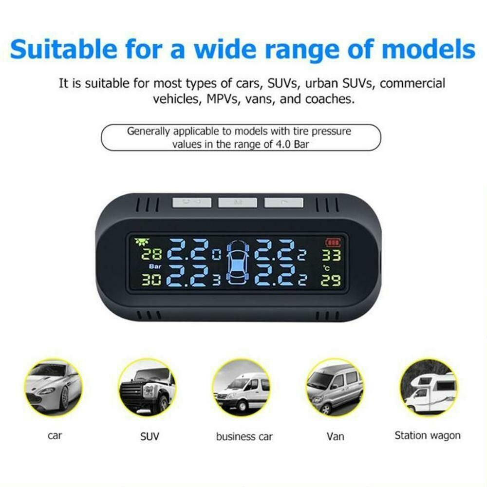 Advertisement Ebay Lcd Tpms Car Tire Pressure Real Time Monitoring System With 4 External Sensor Tire Pressure Monitoring System Car Tires Commercial Vehicle