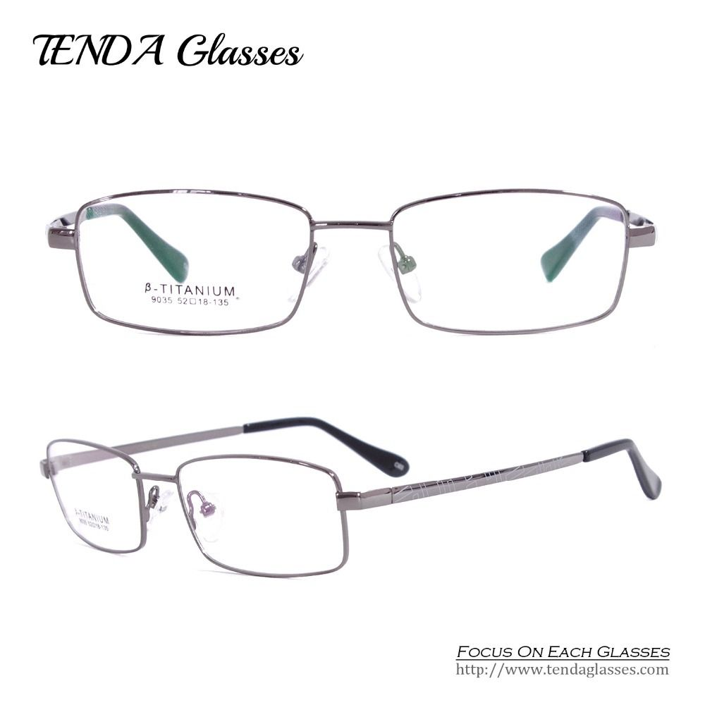 Men Eyewear Flexible Titanium Eyeglass Frames Progressive Multifocal ...