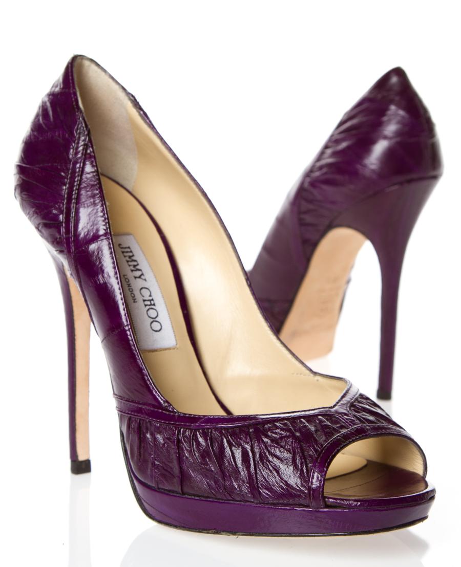 Jimmy Choo Heels Jimmy Choo Heels Heels Purple Shoes