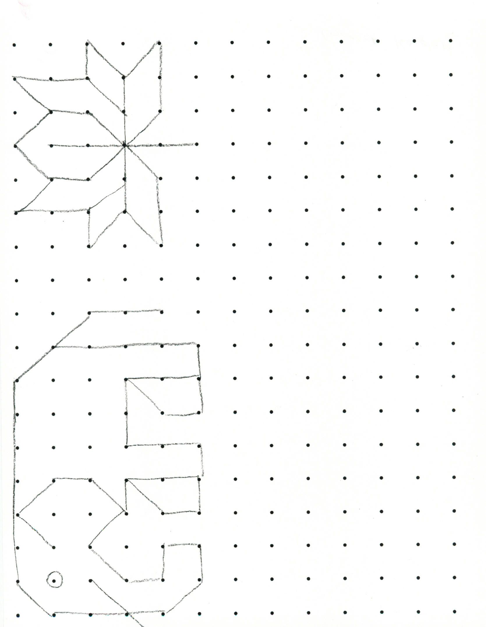 Grid To Drawing Dots