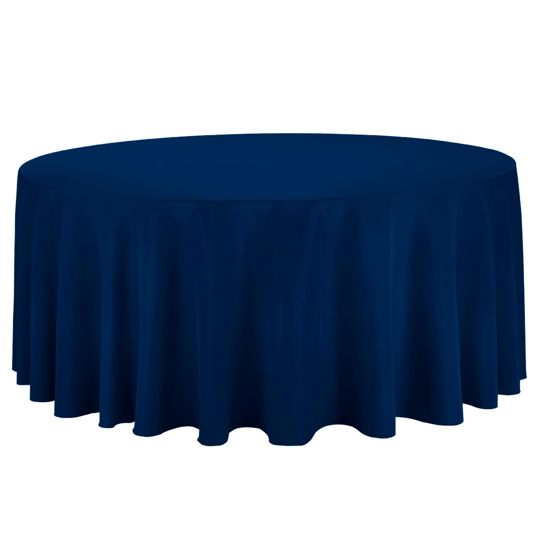 Attrayant Shop For Round Tablecloths At LinenTablecloth. Our 132 In. Round Polyester  Tablecloth Hunter Green Features A Surged Hem, Seamless Design, ...