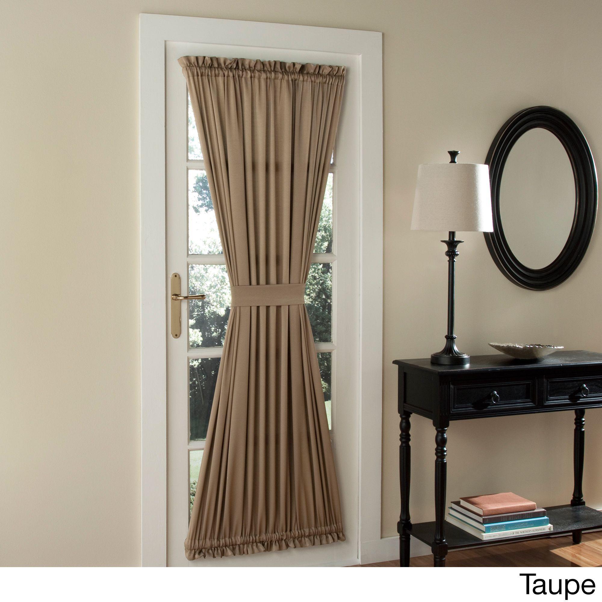Galia Patio Door Window Curtain. Gray CurtainsRoom Darkening CurtainsFrench  ...