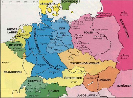 Teilung Und Wiederherstellung Kalter Krieg History Of Germany