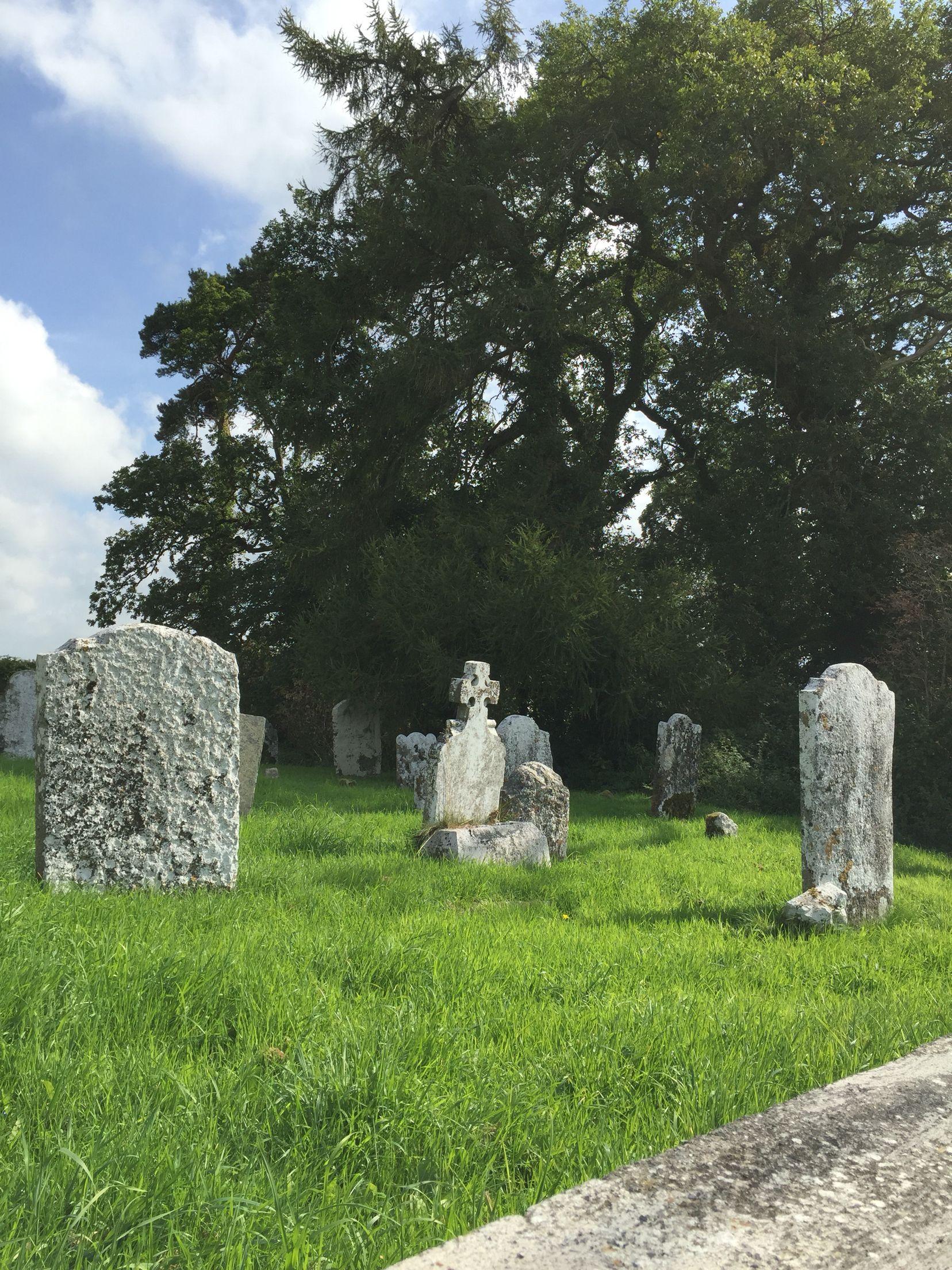 Church ruins outside of Blarney.