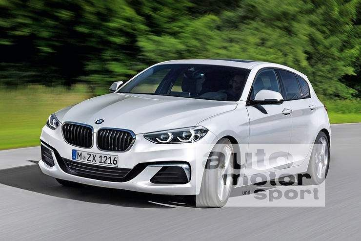 The Next Generation 2018 Bmw 1 Series Hatch Gets Rendered Bmw 1