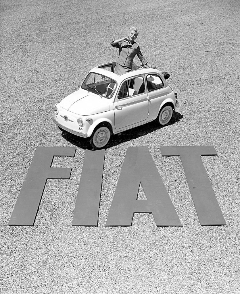 Beelden Van Vroeger Fiat 500
