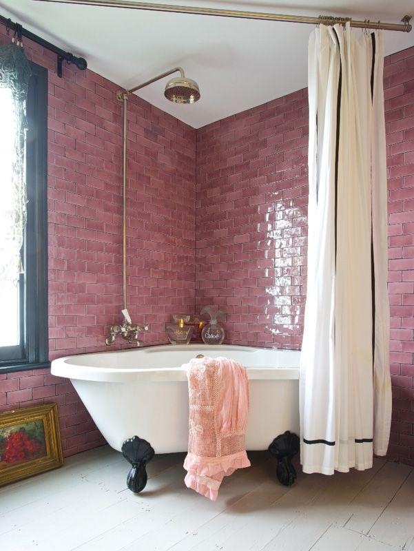 Décoration intérieure   Salle de bain bathroom   Couleur coloré
