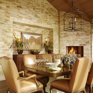 Interior Stone Wall Design, Pictures, Remodel, Decor and Ideas ...
