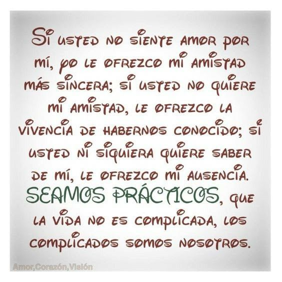 Si usted...