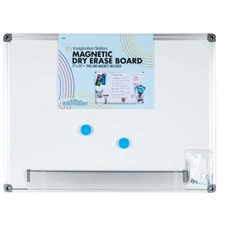 17 X 23 Magnetic Dry Erase Board With Tray Shop Hobby Lobby Dry Erase Board Dry Erase Magnets