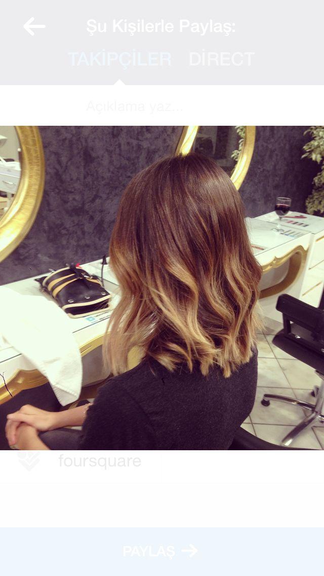 Bal Köpüğü Ombre Ombre Long Hair Styles Hair Ve Hair Styles