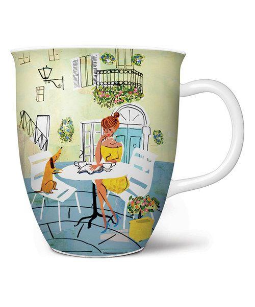 The Good Life in a Café Coffee Mug