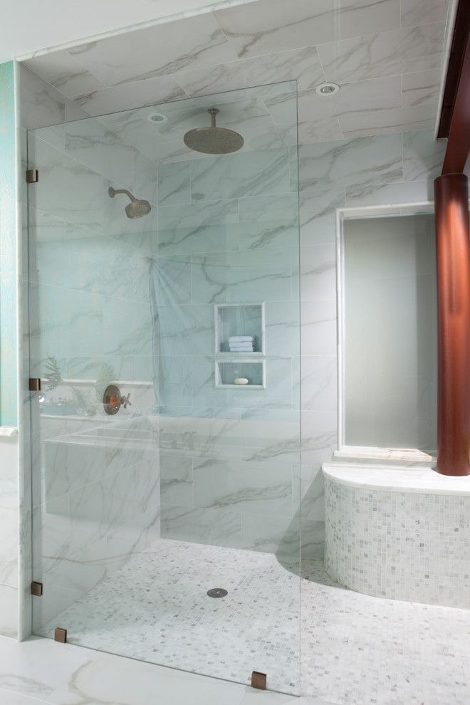 Handicap Bathroom Designs Bathroom Contemporary with Clear Glass