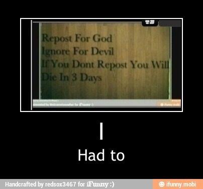 I follow God
