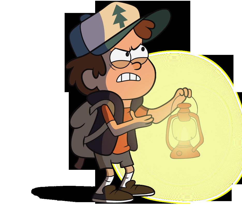 Dipper With A Lantern Gravity Falls Dipper Dipper Pines