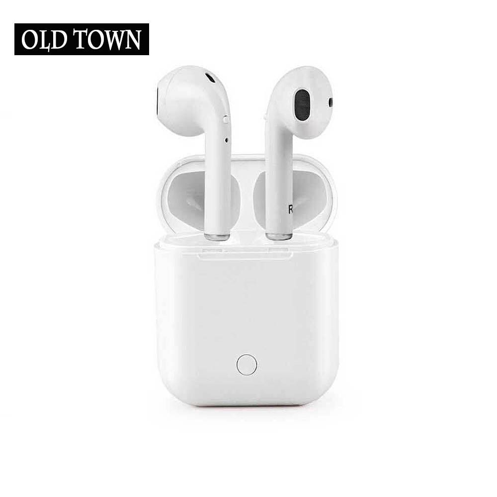 Cheap For Apple Earpods I7s I7 Tws Twins Wireless Earbuds Mini Bluetooth V4 2 Stereo Headset Earphone For Iphone 7 Plus Earbuds Wireless Earbuds Iphone 7 Plus