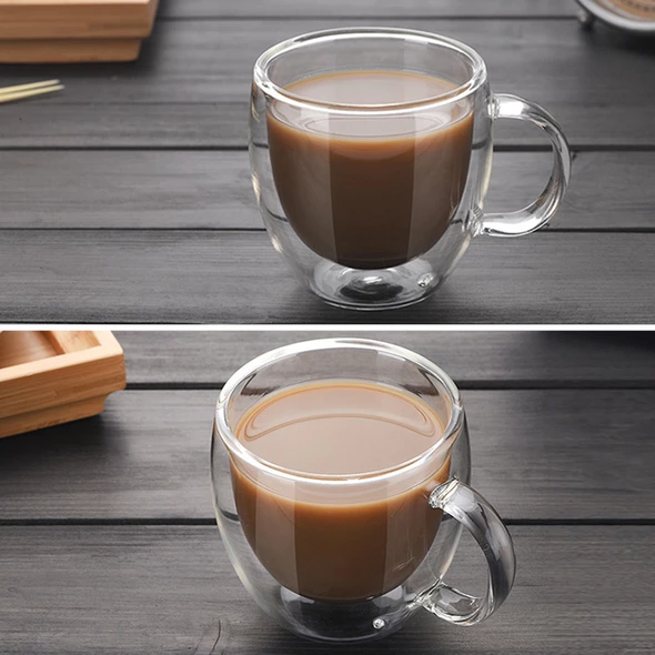 Transparent Drinkware Coffee Cups The Brand Deco Glass Cup Tea Cups Coffee Cups