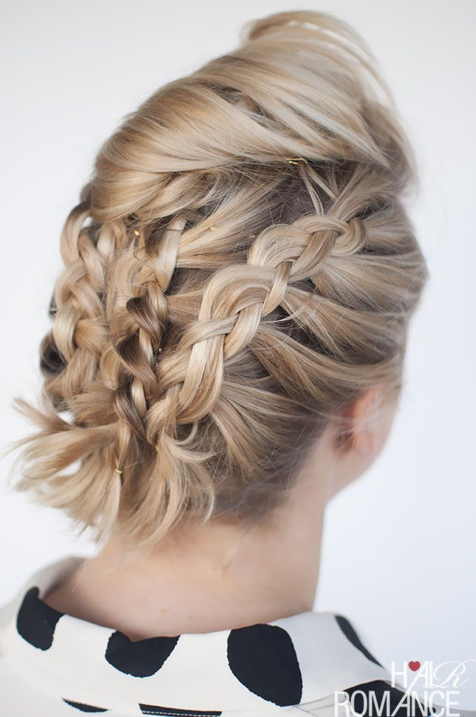 Braids In Short Hair Short Hairstyle Tutorial Hair Styles - Braided hairstyles for short hair step by step