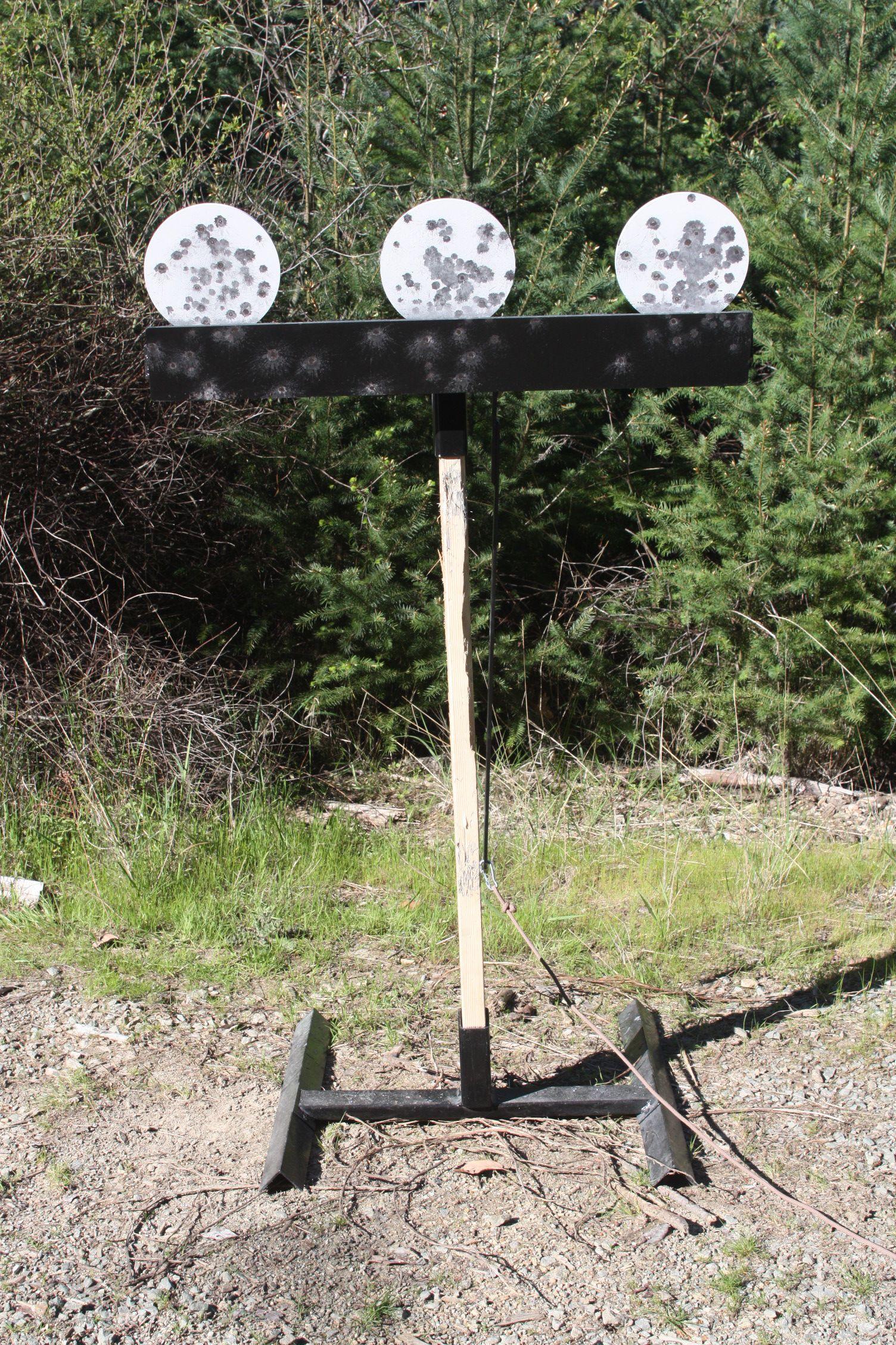 "DOM Pivot Tube 1 6/"" X 1//4/"" Paddle AR500 Steel Target Hostage//Dueling Tree 1"