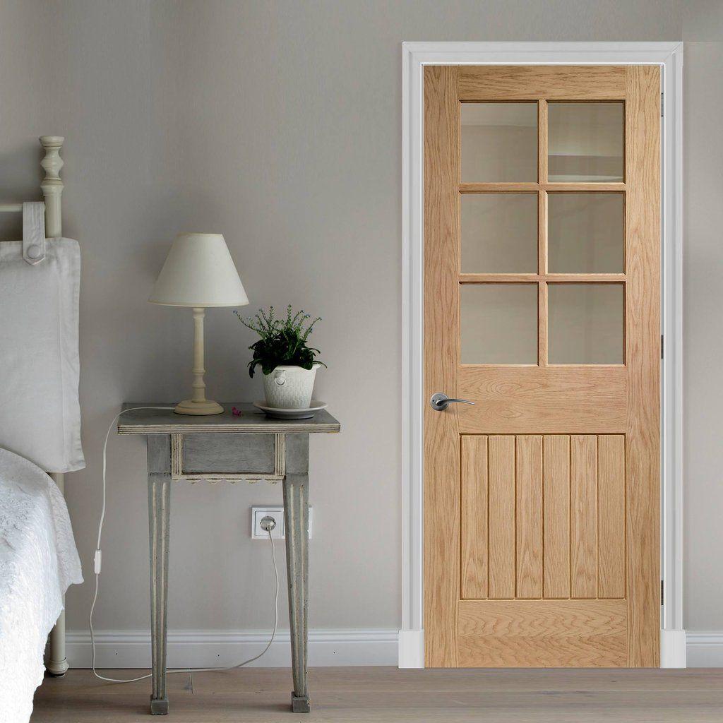 Bespoke Suffolk White Oak 6L Glazed Door & Bespoke Suffolk White Oak 6L Glazed Door | Bespoke White oak and ...