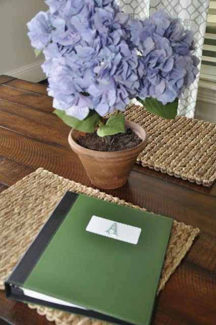 Great tips on Home management Notebook and Daily Agenda