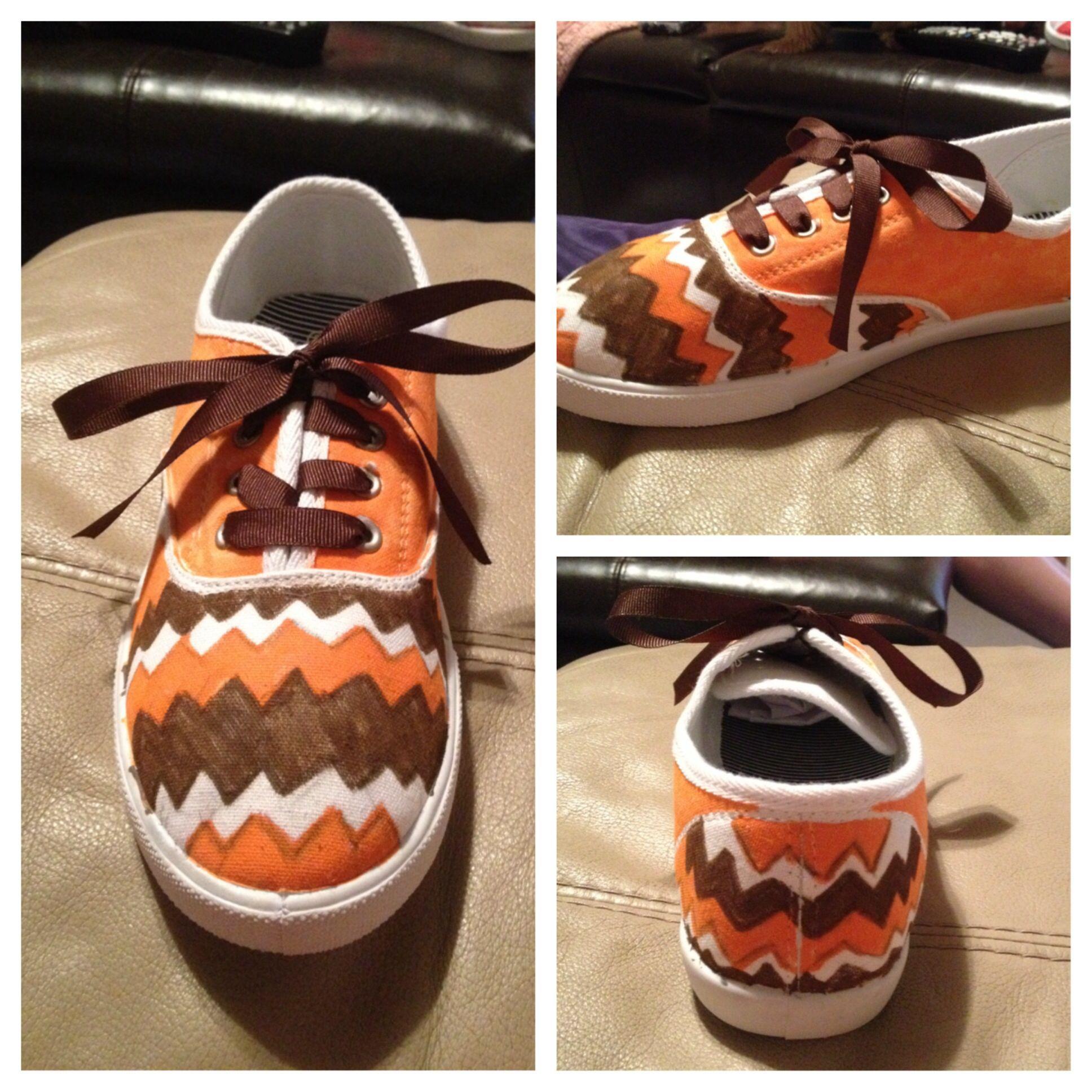 Diy School Spirit Shoes Diy School Spirit Pinterest