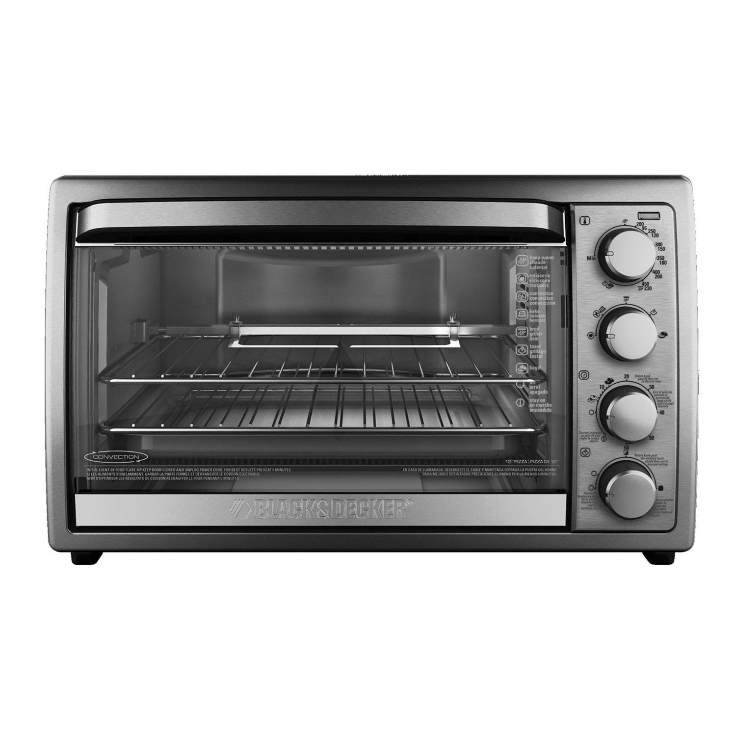 Convection rotisserie oven convection toaster oven