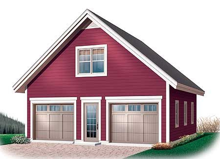 Plan 21703DR Garage Plan with Free Materials List – Canadian Garage Plans