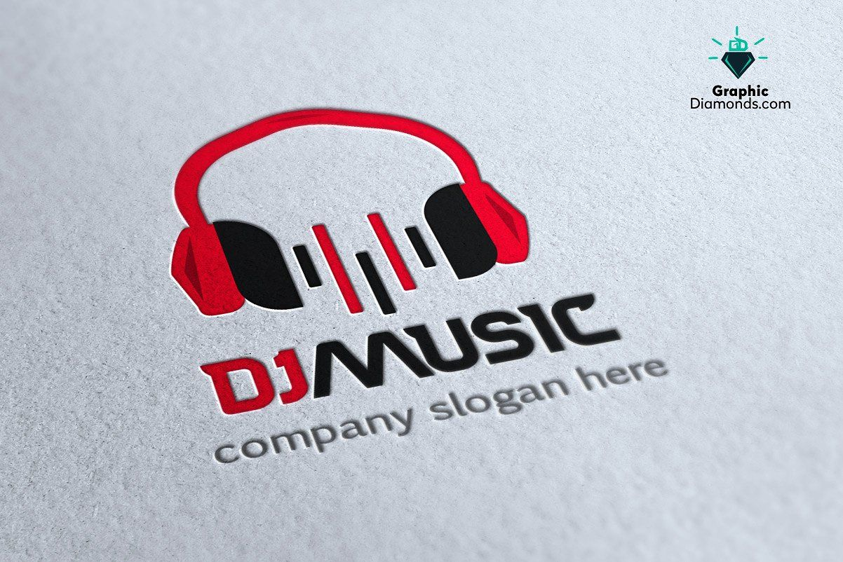 Dj Music Logo Template Dj Logo Music Logo Logo Templates
