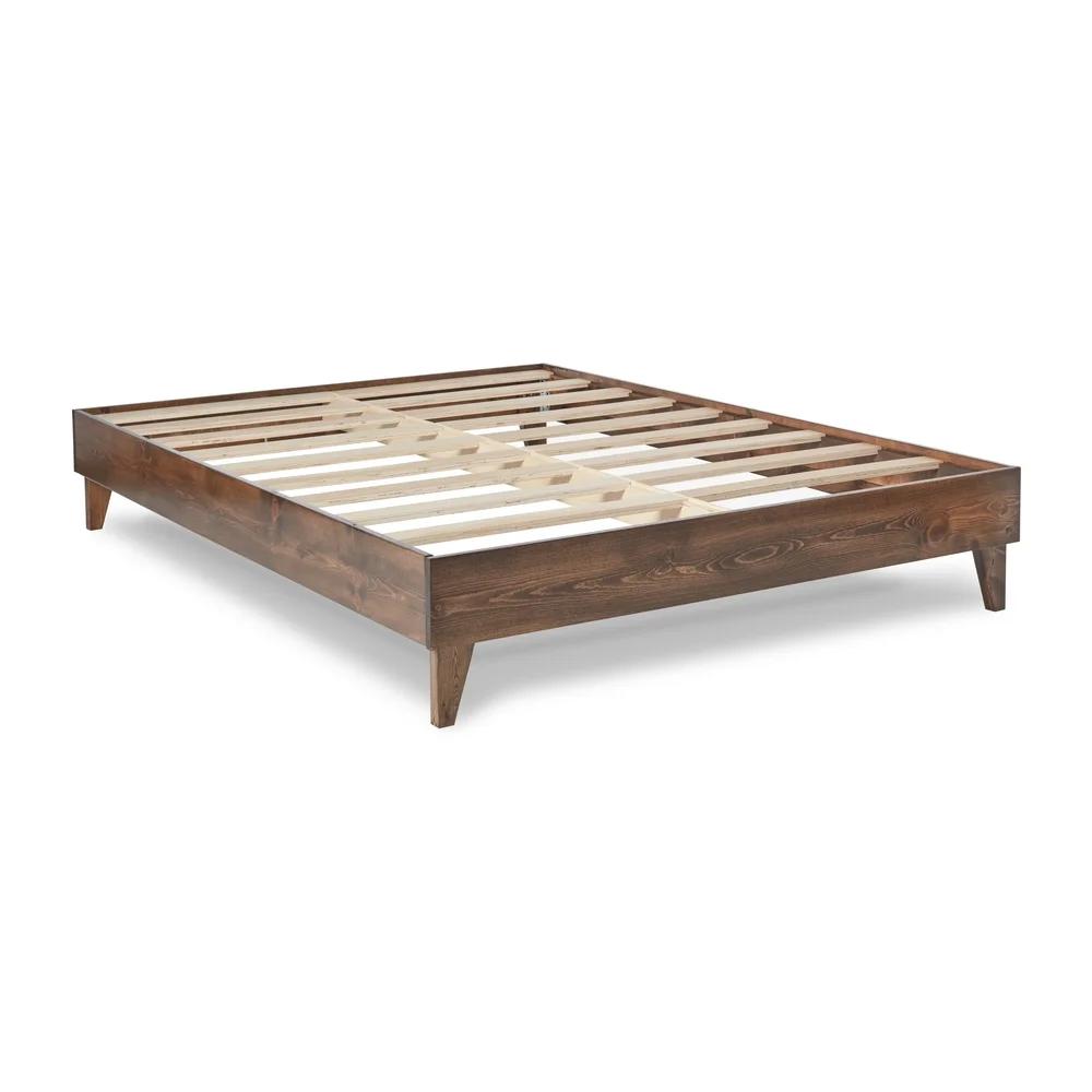 Kotter Home Solid Wood Midcentury Platform Bed in 2020