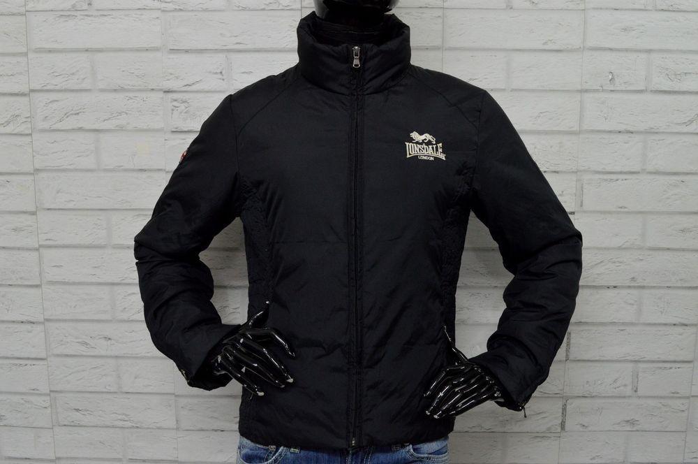 newest 9d33d d1080 Piumino Nero Donna LONSDALE Taglia Size L Giubbotto Jacket ...