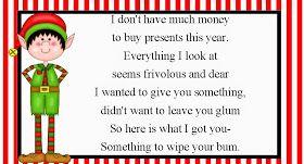 Christmas Toilet Paper Gag Gift Christmas Pinterest