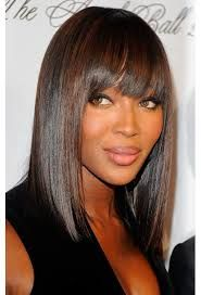Medium Angled Bob Hairstyles With Bangs Over 40 Google Search