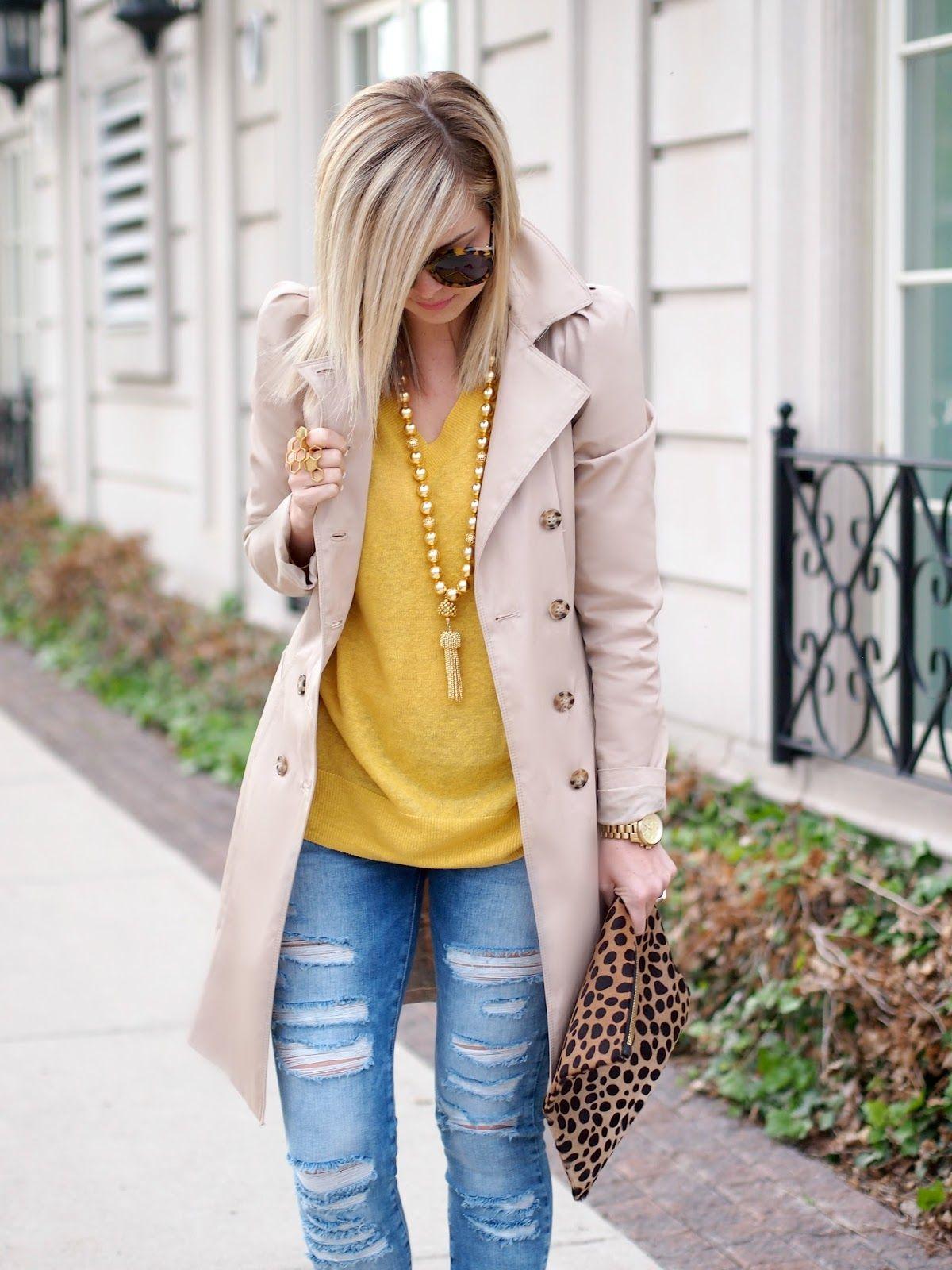 Mellow Yellow Jacket: Zara {old,similar} | Sweater: c/oJoe Fresh| Necklace: c/oLisi Lerch| Jeans: Zara {similar} | Shoes: Nine West Canada {old,similar}| Clutch:Clare Vivier| Sunglasses:Karen Walker| Ring: c/oShahla Karimi| Watch:Michael Kors