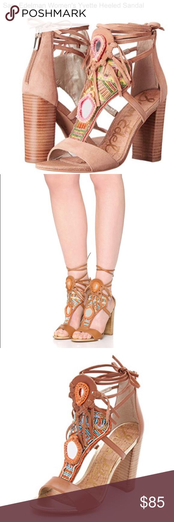 764264b9f Sam Edelman Women s Yvette Heeled Sandal Sz 9 Like new! Excellent condition Sam  Edelman Women s