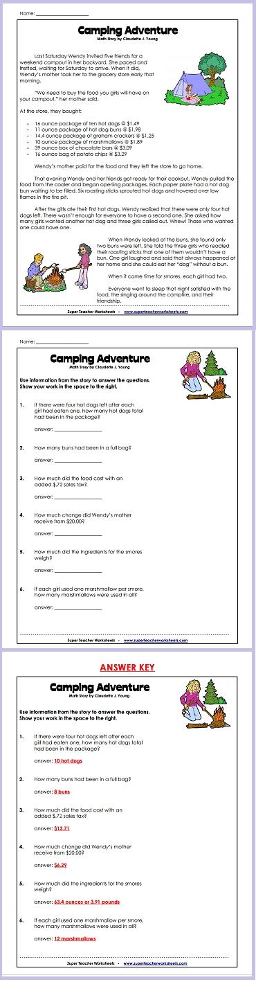 Pin On Math Super Teacher Worksheets