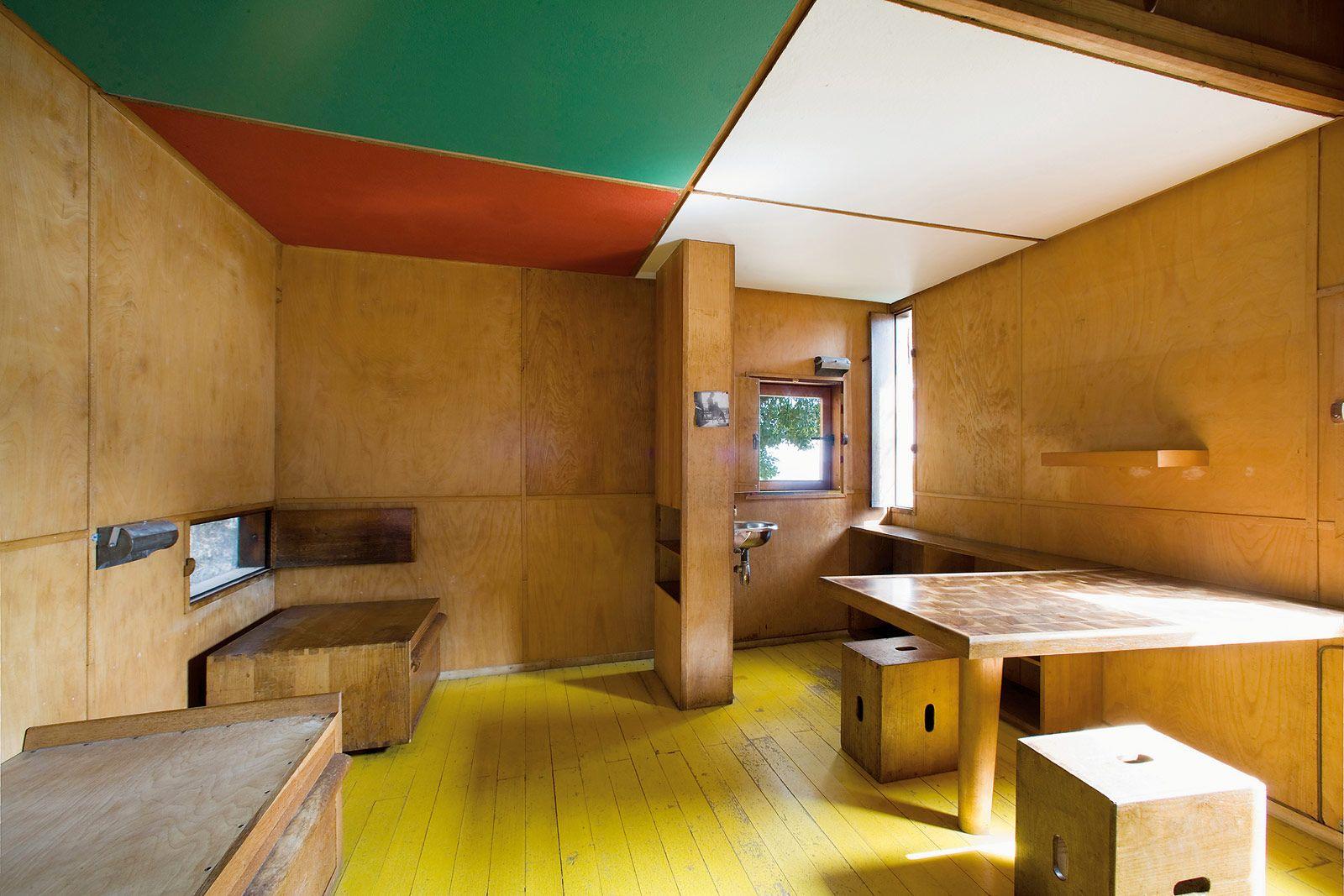Courtesy of Fondation Le Corbusier | kitchen | Pinterest | Arch ... - Cabanon Le Corbusier
