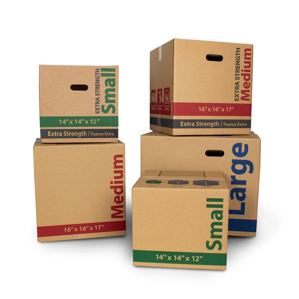 Large Recycled Kraft Moving Boxes 22l X 18w X 18h In 25 Count