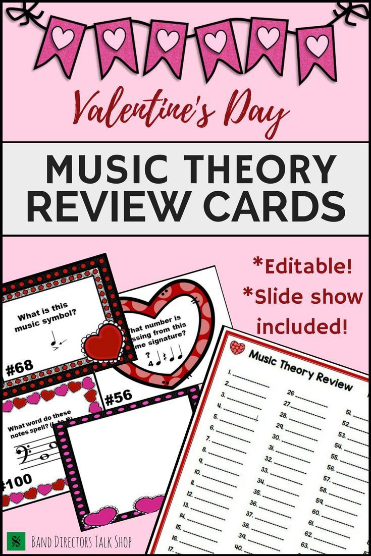 worksheet Theory Worksheets For Beginning Bands valentines day music worksheet w100 editable task cards slide show symbols theory and elementary music