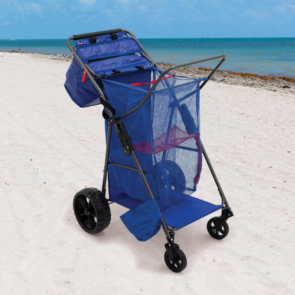 hauling stuff image by Leilani N. Beach cart, Beach gear