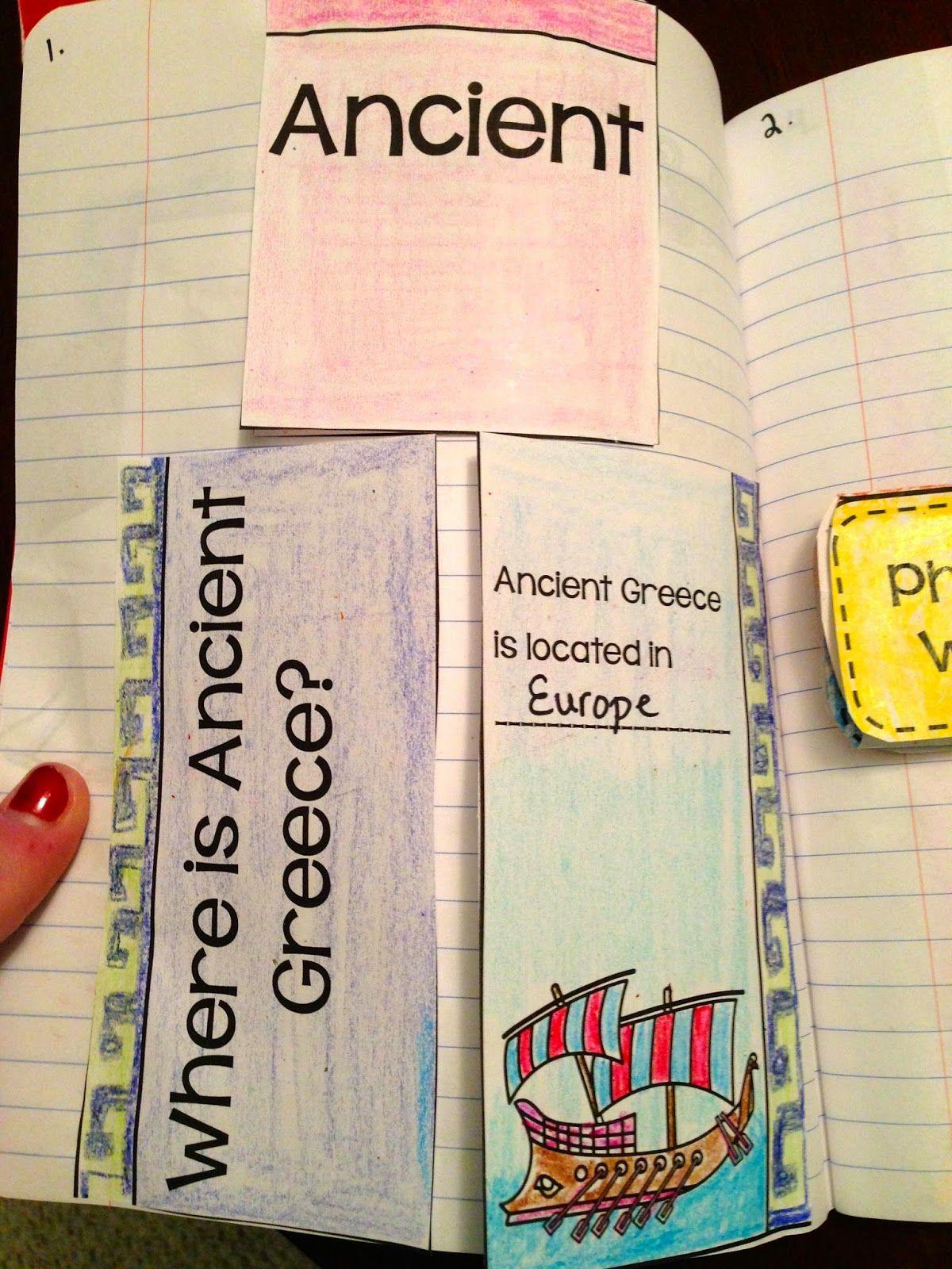 In Third Grade We Study Ancient Civilizations