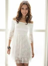 Vestidos Cortos Blanco Buscar Con Google Vestidos Para